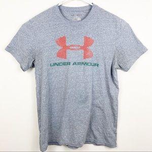 Under Armour Gray Tee Shirt Size Medium